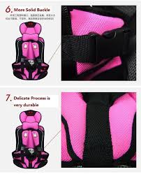 new fashion baby car seat covers protector 0 5 years old kids portable car seat carrier harness