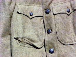 button flapped mens coat pockets men winter work coats tuff duds