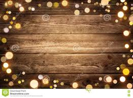 Wood With Lights Festive Wooden Background With Lights Stock Image Image Of