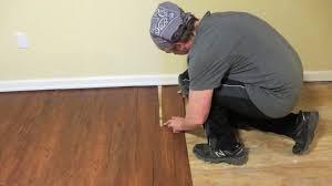 installing vinyl plank flooring