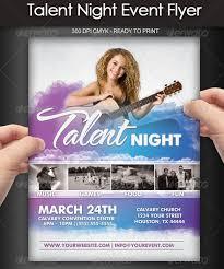 15 Talent Show Flyer Templates Word Psd Ai Eps Vector