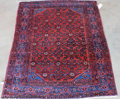 blue and red persian rug