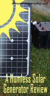 17 best ideas about solar generator solar powered a humless solar generator review