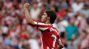 Atletico Madrids Joao Felix Scores First La Liga Goal