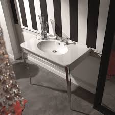 ws bath collections retro 1049 wall mounted bathroom sink with legs 394 x