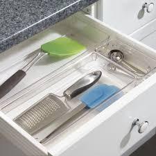 Kitchen Drawer Inserts Ikea Interdesign Linus Drawer Organizer For Kitchen Patnry Bathroom