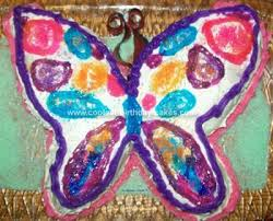 Cool Homemade Colorful Butterfly Birthday Cake