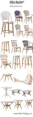 the affaire collection is designed for upper end cafes breries bistros and restaurants in