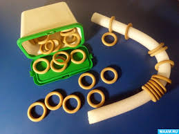 Пособия для развития мелкой моторики Воспитателям детских садов  Пособия для развития мелкой моторики 2 Игры с деревянными кольцами нанизать кольца на основу