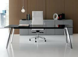 glass top office furniture. Glass Office Desk Rectangular Executive By Top Australia . Furniture