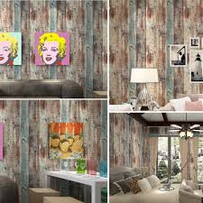 Q QIHANG American style Vintage Woods Panel Wallpaper Rolls Trees Vinyl  Kitchen Wall Paper Mediterranean nostalgia 57 sq.ft -in Wallpapers from  Home ...