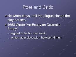 john dryden ppt video online  2 poet