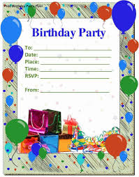 Birthday Invitation Templates Free Word birthday invitation birthday invitation templates Free 1