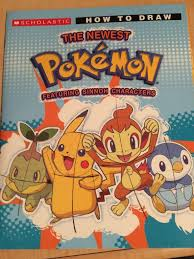 just your average book filled with pokémon drawing steps