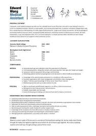 Medical Assistant Resume Samples Luxury Physician Assistant Resume