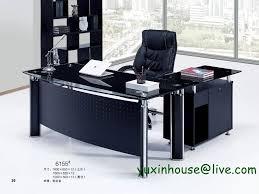 office furniture table design. Wonderful Office Temperedglassofficedeskbossdesktablecommercial On Office Furniture Table Design
