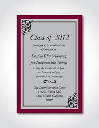 Formal Graduation Announcements Formal Graduation Announcements Designs Printable Formal Graduation