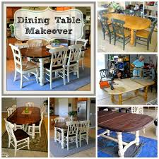 Farm Style Dining Room Tables Farmhouse Style Table Makeover For 20 How We Did It And