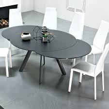 white extendable table zoom ikea white extendable round table