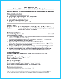 Are You Trying To Make The Best Cable Technician Resume Ever If So