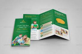 tri fold school brochure template education brochure template download free premium templates