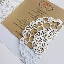 Laser Cut Invitation Card Maker Wedding Marriage Aniversary Holiday Invites Envelop Inner Card Free Printing Free Ship 25th Wedding Anniversary
