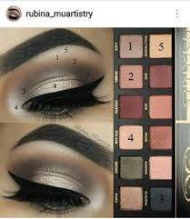 look by rubina muartistry using the abh master palette by mario anastasia mario palette abh
