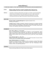 Sample Objectives For Resumes Example Of Objective For Resume Medium ...
