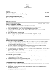 Extra Curricular Activities For Resume Examples Examples Of Resumes