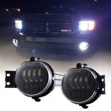 2008 Dodge Ram 1500 Fog Light Kit Us 60 54 24 Off Led Fog Light For Dodge Ram 1500 2002 2008 Dodge Ram 2500 3500 Pickup Truck 2003 2004 2005 2006 2007 2008 2009 1 Pair Black In Car