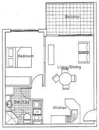 Nice 1 Bedroom Apartment Floor Plans 22 For With 1 Bedroom Apartment Floor  Plans