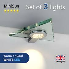 plug in cabinet lighting. Image Is Loading 3-LED-Glass-Triangle-Plug-In-Under-Kitchen- Plug In Cabinet Lighting