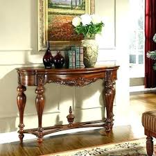 foyer tables foyer table decorating ideas entrance entry round decor round foyer tables solid wood