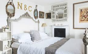 french bedroom. white vintage french bedroom n