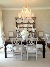 Dining Room Crystal Chandelier Over Dining Table Alluring Dining - Dining room crystal chandeliers
