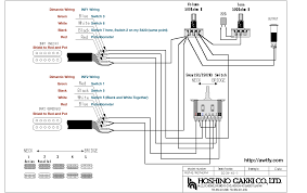 guitar pickup wiring diagram wirdig wiring diagram that shows the connections for the new dimarzio pickups