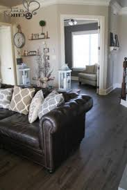 Leather Couch Decorating Ideas Living Room Fabulous Brown Leather
