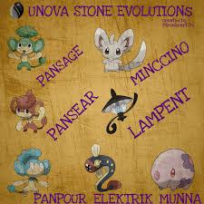 Gen5 Unova Stone Evolutions : TheSilphRoad