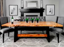 raw edge dining table. Thetis Dining Table Raw Edge