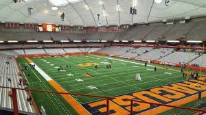 Syracuse Football Dome Seating Chart Carrier Dome Interactive Seating Chart