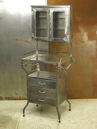 vintage steel furniture. eccentric curiosity cabinet as sign of science movement in your home vintage metal dentist steel furniture