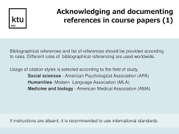 How To Cite Information Resources And Create A Reference List Ppt