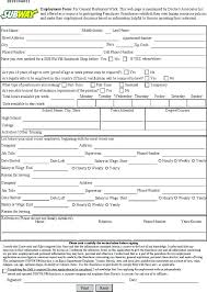 New Hire Cation Form Template Employee 9 Free Word Documents ...