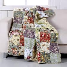 Amazon.com: Greenland Home Blooming Prairie Throw Blanket, Full, Multi: Home  & Kitchen