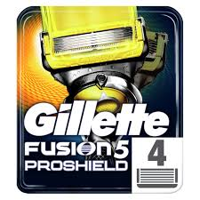 "<b>Кассеты</b> для бритья сменные <b>Gillette</b> ""<b>Fusion ProShield</b>"", 4шт ..."