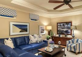 navy blue leather sofa. Blue Leather Living Room Navy Sofa