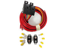 viair dual compressor wiring harness for accuair air ride Firestone Air Bag Catalog at Firestone Ride Rite Wiring Diagram