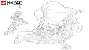 Ninjago Dragon Coloring Pages Four Headed Playanamehelp