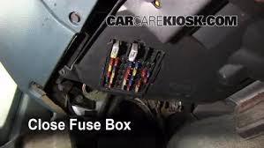 interior fuse box location buick lesabre buick interior fuse box location 1990 1999 buick lesabre 1992 buick lesabre limited 3 8l v6