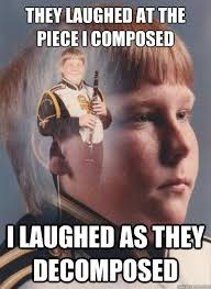 PTSD Clarinet Boy memes | quickmeme via Relatably.com